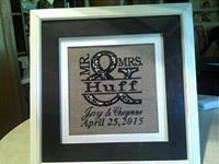 Tmx 1435643557460 Embroidered Wedding Announcement Hendersonville wedding favor