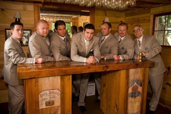 Groom along with groomsmen