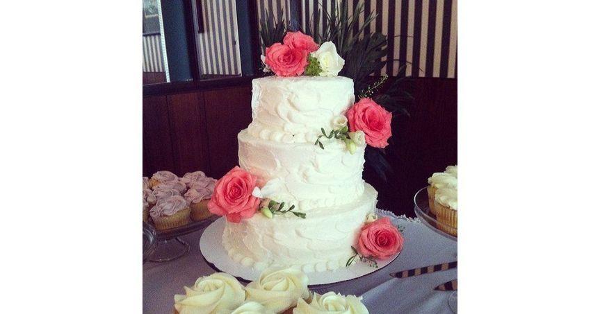 c479b2dd9b32e829 Budding Roses Cake