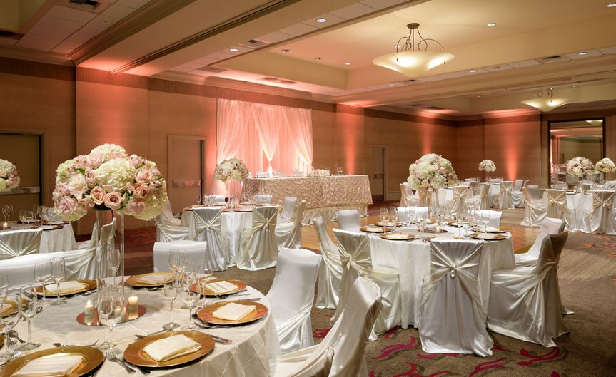 Sierra ballroom setup