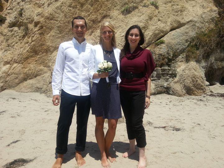 Tmx 1372386973907 Elysia Katerina Daniele 050813 Valley Village, California wedding officiant