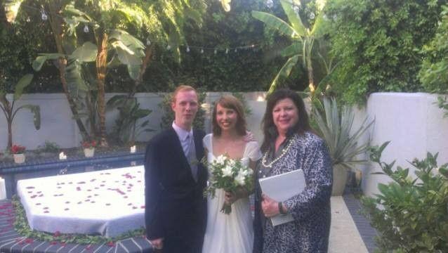 Tmx 1374100913198 Tracy Jenny Daniel 071313 Valley Village, California wedding officiant