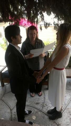 Tmx 1374100923849 Tracy Couple Valley Village, California wedding officiant