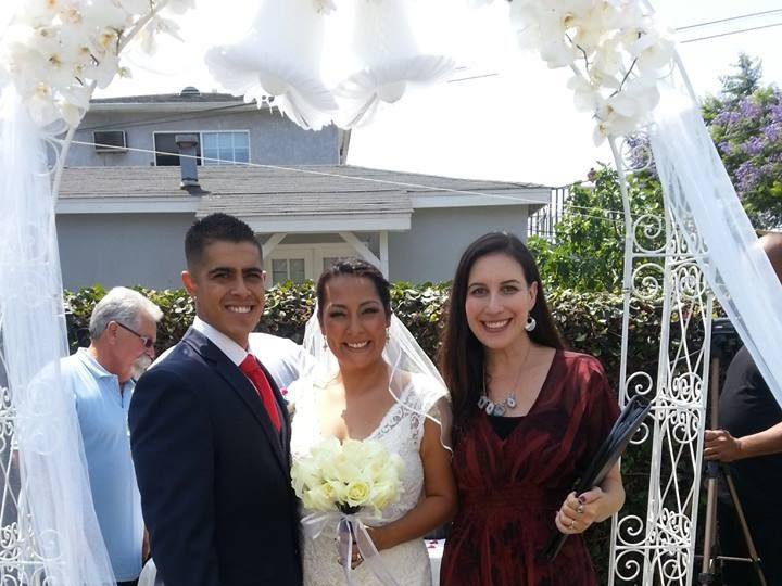 Tmx 1374100937159 Elysia Bobby Jessica 070413 Valley Village, California wedding officiant