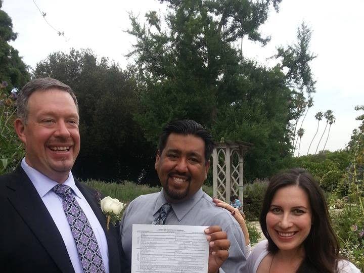 Tmx 1374100944089 Elysia Chris Mark 070213 Valley Village, California wedding officiant