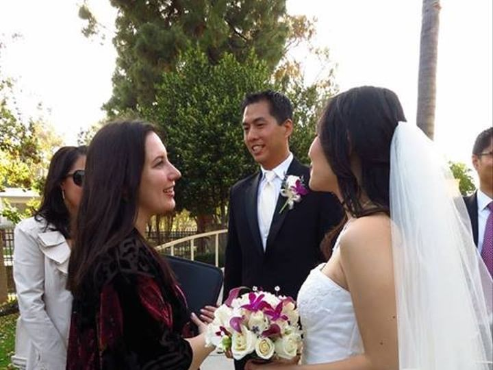 Tmx 1374101011687 Elysia After Ceremony Valley Village, California wedding officiant