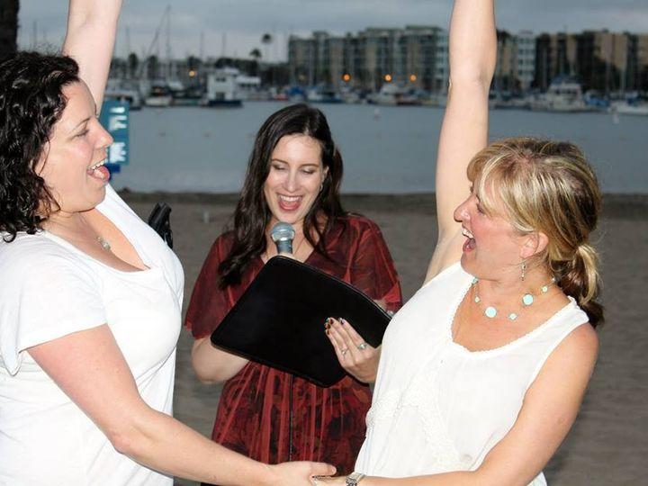 Tmx 1384904490133 Elysia Natalie Rebecca Pronouncemen Valley Village, California wedding officiant