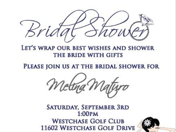 Tmx 1312477618365 Shower1 Clearwater wedding invitation
