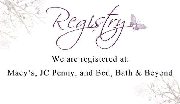 Tmx 1312478878598 Registry Clearwater wedding invitation