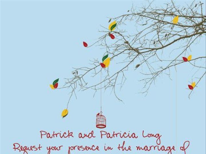 Tmx 1312481437034 AngelaDavidTree Clearwater wedding invitation