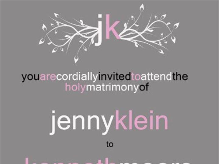 Tmx 1312482500628 JKWEDDINGINVITE Clearwater wedding invitation