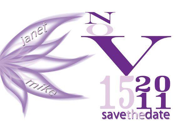 Tmx 1312482595835 PurpleSTD Clearwater wedding invitation