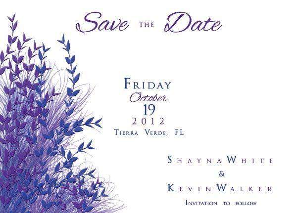 Tmx 1334011023406 Savethedate3 Clearwater wedding invitation