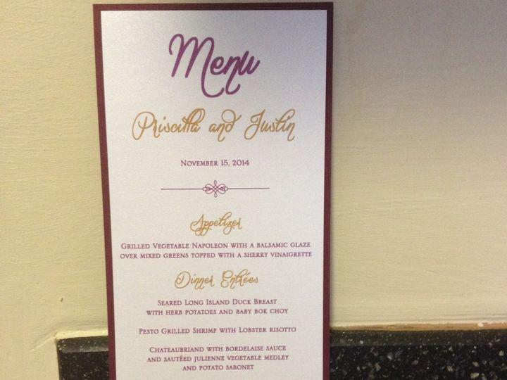 Tmx 1418490541189 Rachel And Aubrie 730 East Brunswick wedding invitation