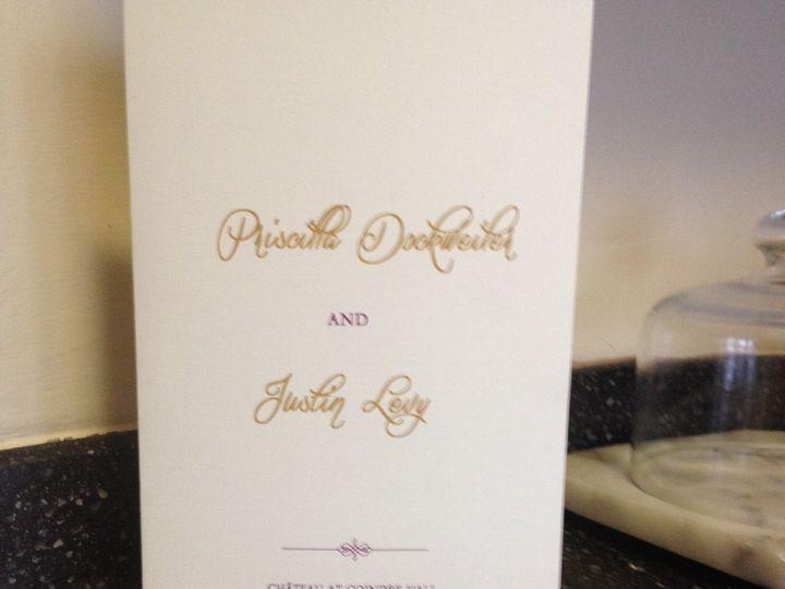 Tmx 1418490562288 Rachel And Aubrie 725 East Brunswick wedding invitation