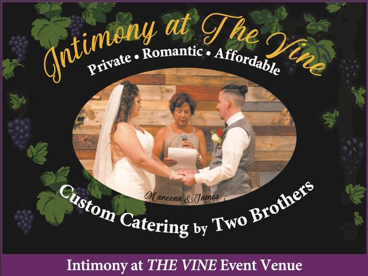Tmx Intimony Wedding At The Vine 51 1996497 160696139079984 Fayetteville, NC wedding catering