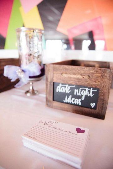 Date Night Idea Box