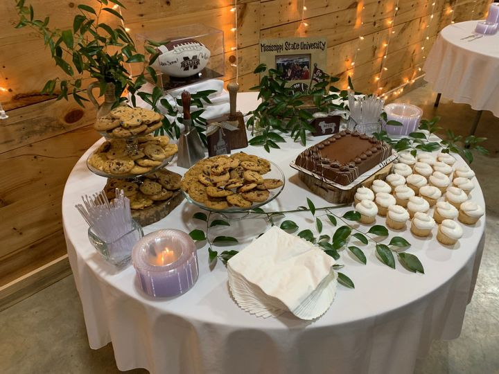 Dessert and sweets table
