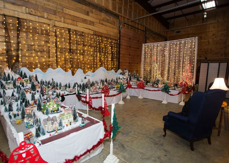 Christmas village overview