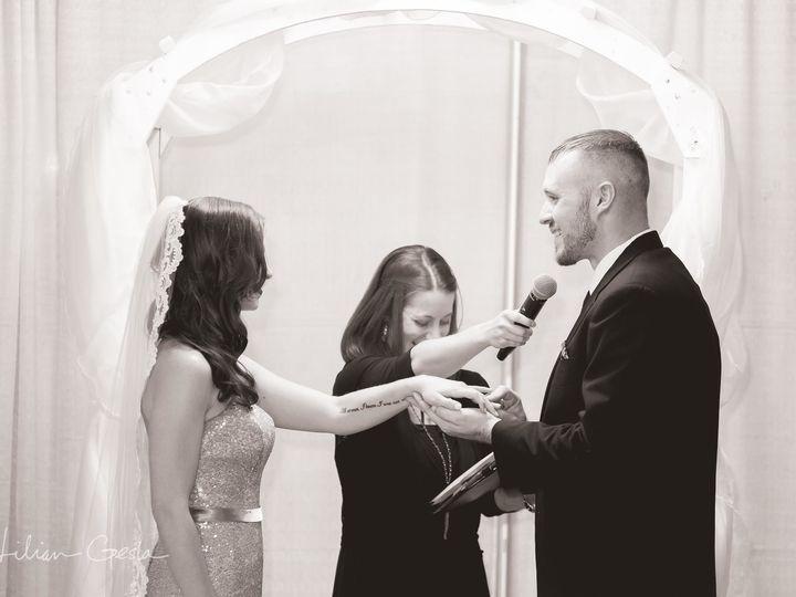 Tmx 1509538147173 Kacy And Brian Mic Parkton, Maryland wedding officiant