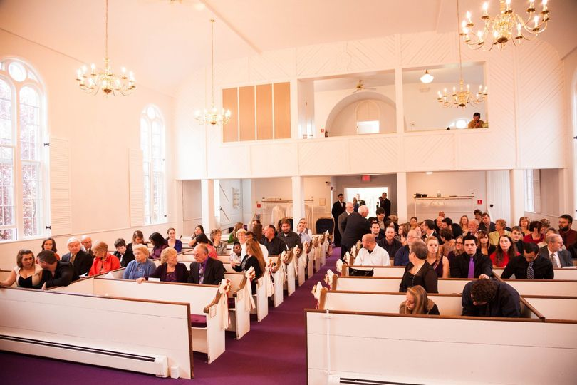 Sanctuary View from the Altar
