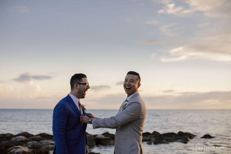 Same sex wedding in Key West