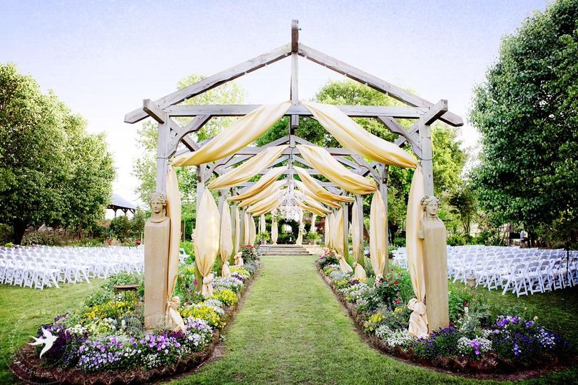 Elmwood gardens venue palestine tx weddingwire for Places to have receptions for weddings