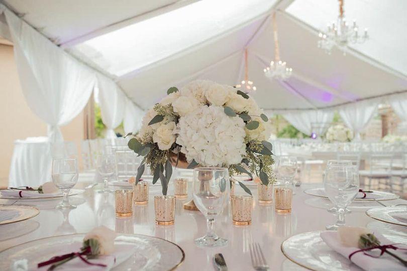 Wedding Whites + Greenery