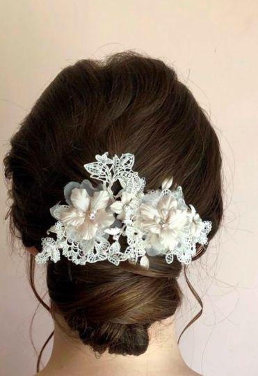 Bridal Hair - Bun