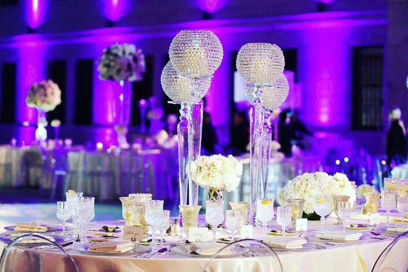 Alexandria Wedding Decor Lighting Decor Astoria Ny Weddingwire