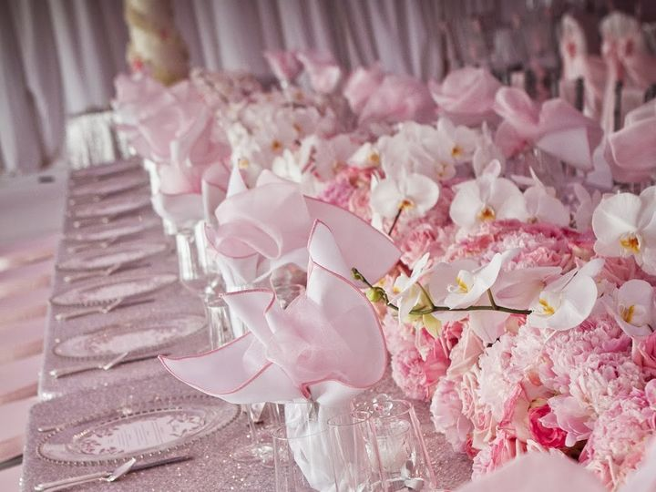 Tmx 1505240354147 Pink Wedding Theme Table Decoration Astoria wedding eventproduction