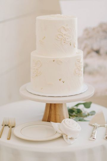 Buttercream Cake Painting
