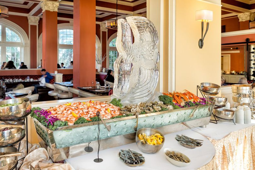Hotel galvez hosts sunday brunch from 11 to 2 p. M.