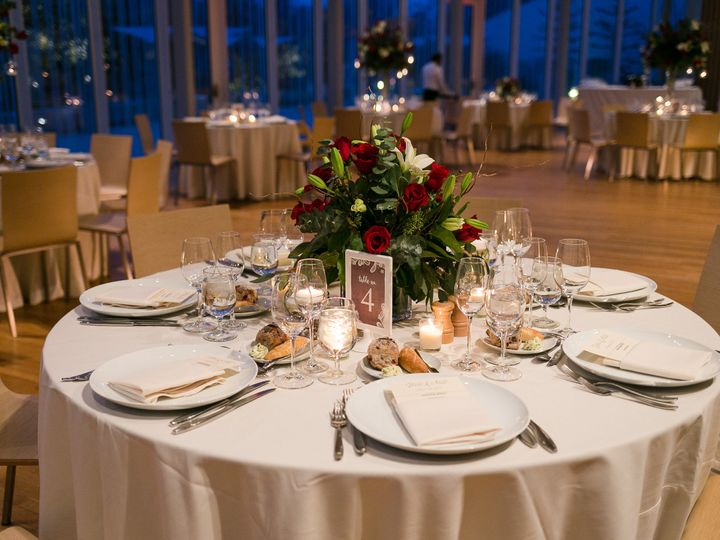 Tmx 1499352769740 Polina Bulman   Table Top Atrium 3 Brooklyn wedding venue