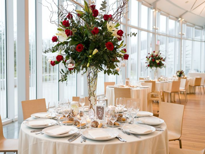 Tmx 1499352797476 Polina Bulman   Table Top Atrium Brooklyn wedding venue