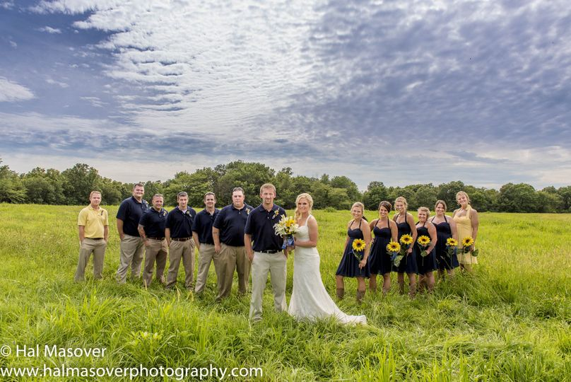 samantha and justin hayne bridal party