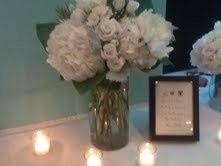 flowersguest table