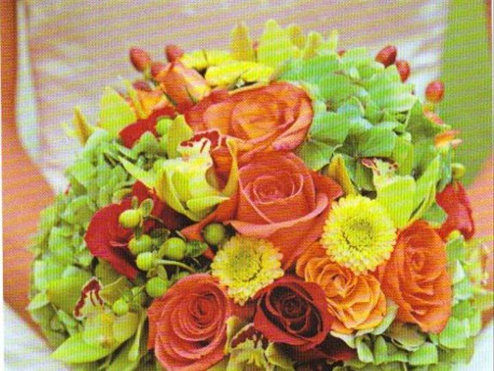 Tmx 1221570425637 BouquetOrange Cherry Hill wedding planner