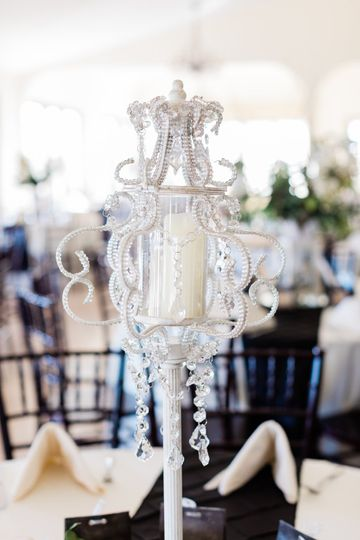 Chandelier centerpiece