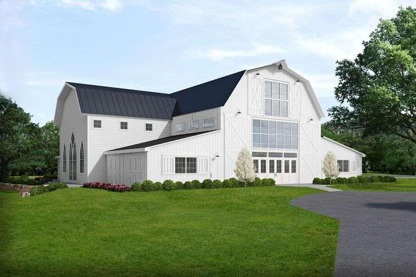 the dutch barn wedding venue exterior view 1 09 10 2018
