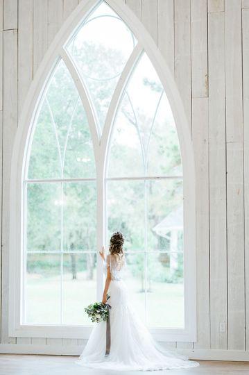 Chapel Window View