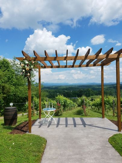 One of our vineyards location to perform your ceremony