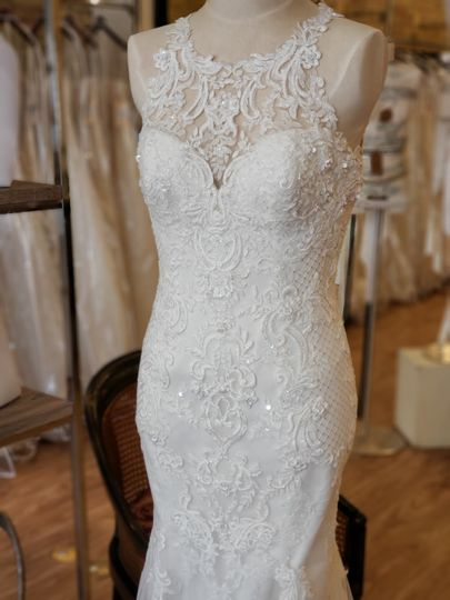 A lace design by Maggie Sottero