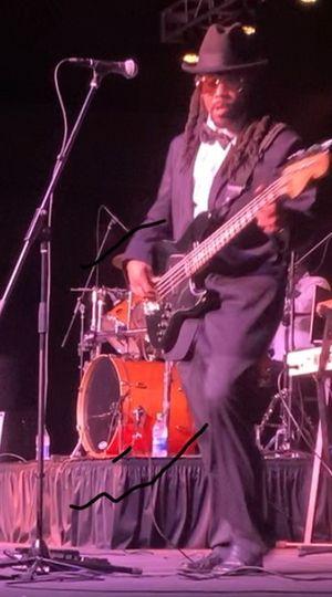 Lou on Bass