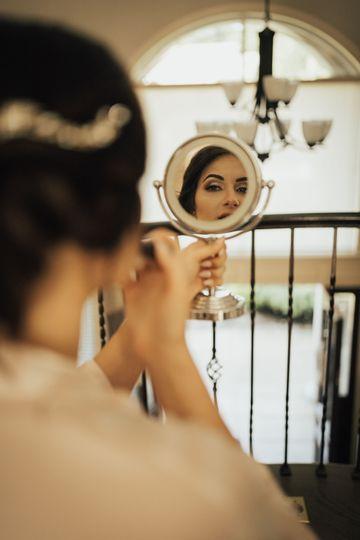 Hair, make-up and lashes