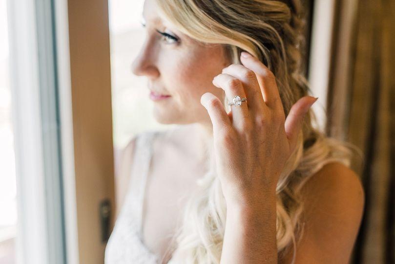 Wedding ring close-up