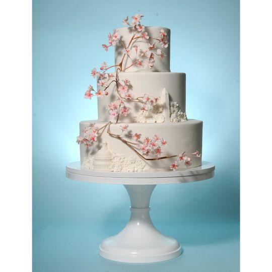 Catherine George Cakes Wedding Cake Washington DC WeddingWire