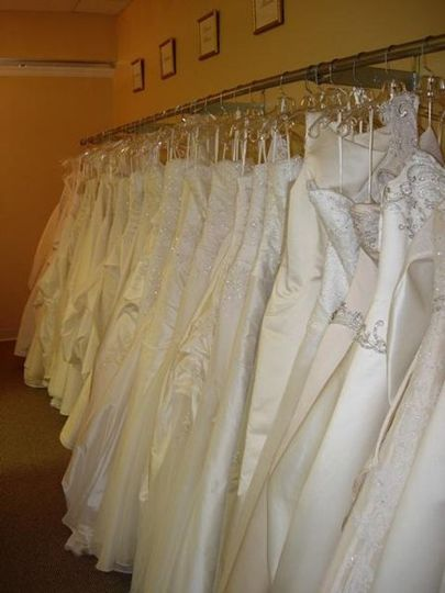 Small sampling of the many Bridal Gowns Lillian's has to offer.