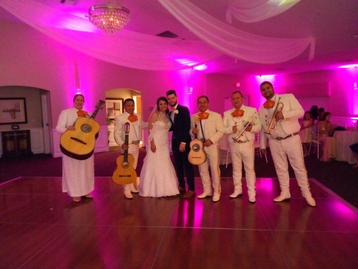Newlyweds and the band