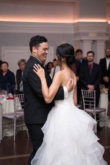 Reception dance